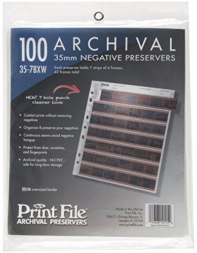 Archival 35mm Size Negative
