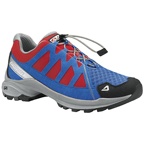 Dolomite - Zapatillas de senderismo para hombre Royal Blue/Fiery Red