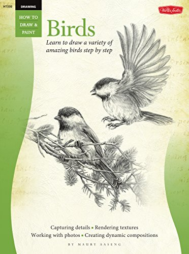Drawing: Birds: Learn to draw a variety of amazing birds step by step (How to Draw & Paint)