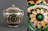 Decorative ceramic handmade clay tureen kitchen tools and utensils