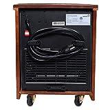 Ivation Portable Electric Space Heater, 1500-Watt 6-Element Infrared Quartz Mini Heater With Digital