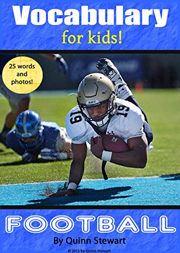 Vocabulary for Kids!: Football