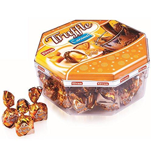 Truffle, Milk Chocolate Candy With Caramel Cream, 23-Ounce Box ()