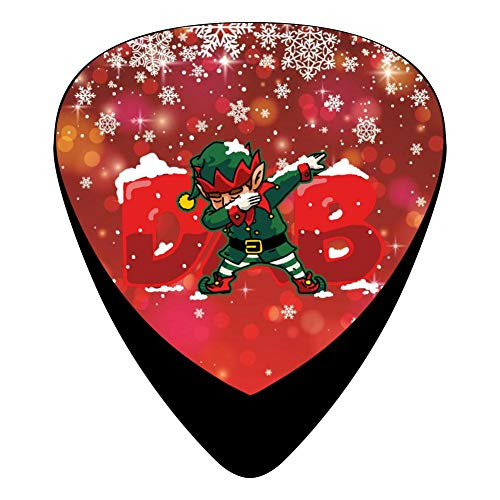 DAB Elf Santa Helper Fender Celluloid Guitar Picks Customized 12 Pack Thin Medium Heavy Gauges For Musician -