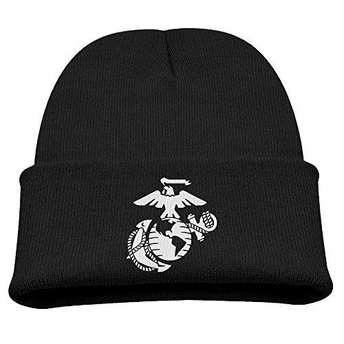 Usmc Skull Cap (USMC Unisex Beanie Cap)