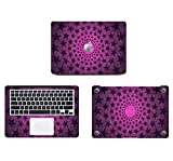 Theskinmantra Loopy Stars full cover DECAL/SKIN, A set of 3 pcs, Made for Apple MacBook AIR13 inch