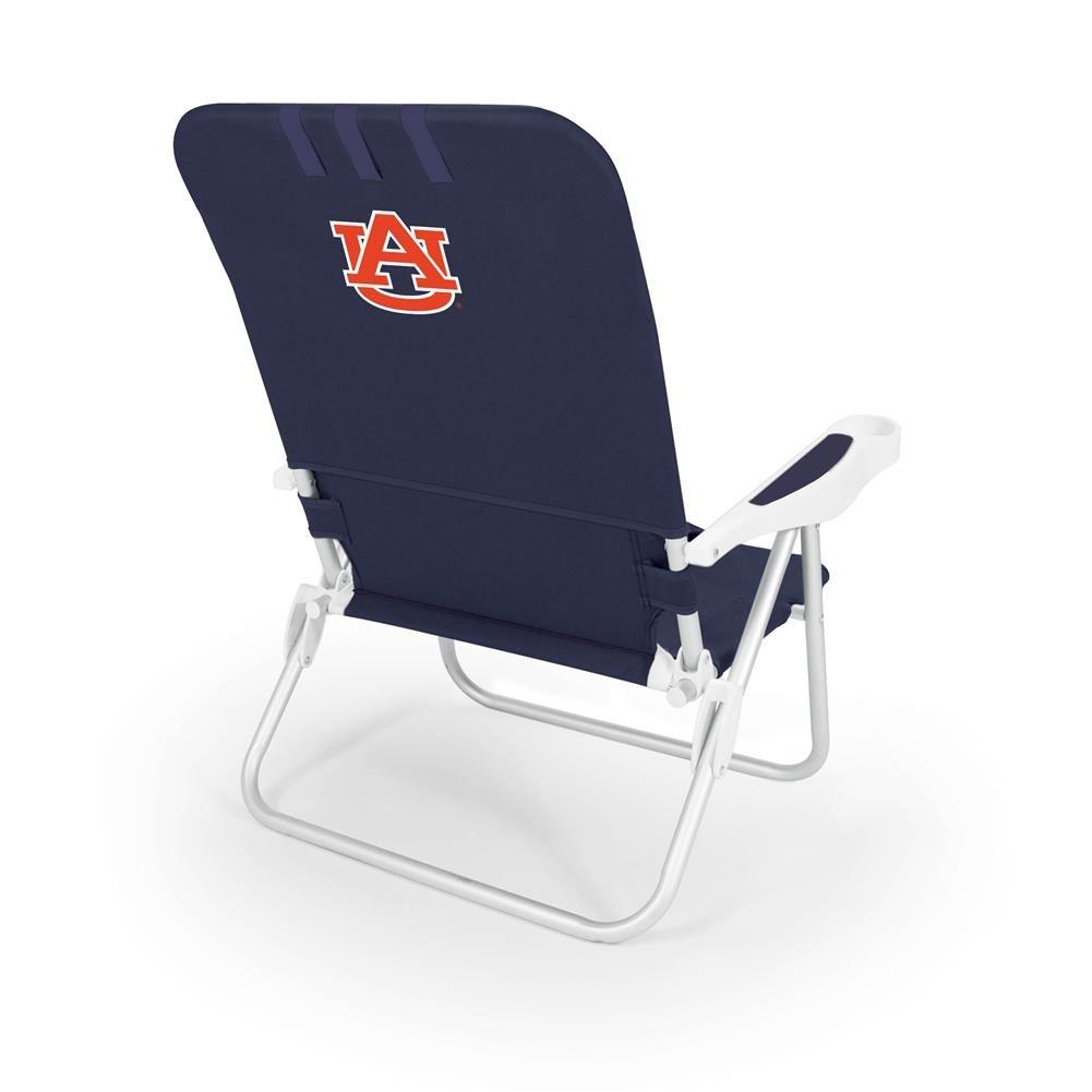 NCAA Auburn Tigers Monaco Folding Beach Chair