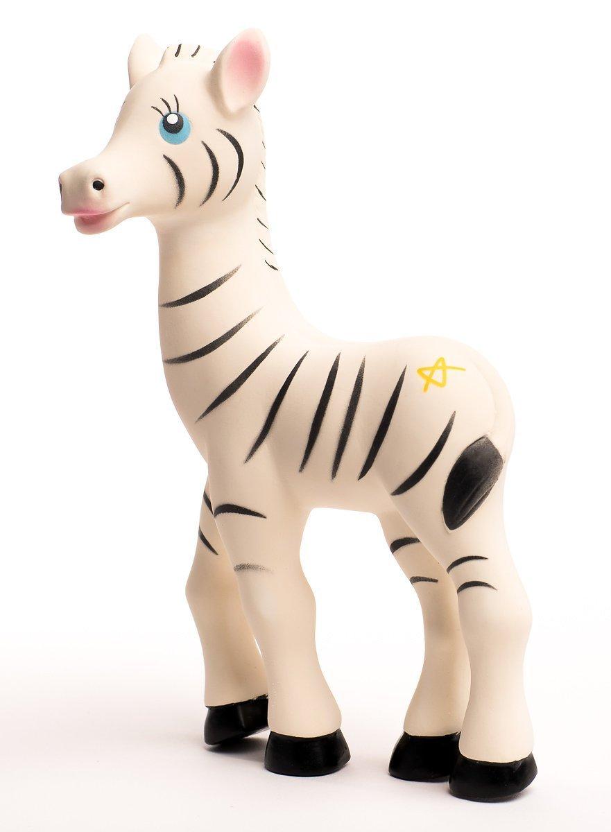 New Little Wonders Baby Teether, Zeta Zebra Teething Toy