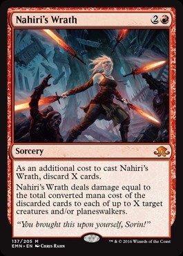 Magic: the Gathering Nahiri39;s Wrath (137/205)