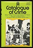 A Catalogue of Crime, Jacques Barzun and Wendell H. Taylor, 0060102667
