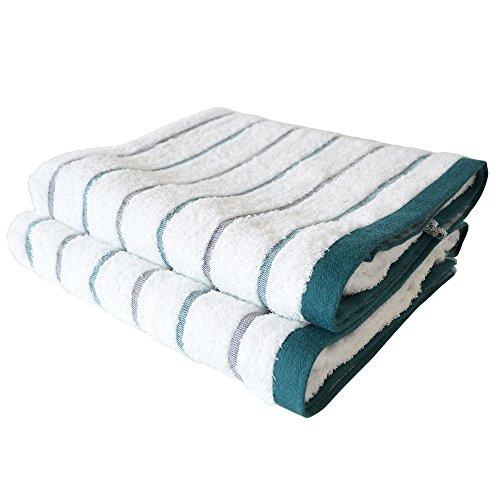 Travel Towel Japan: CYBERL / Oruta Japanese Bath Towel Set Of 2 Green / Super