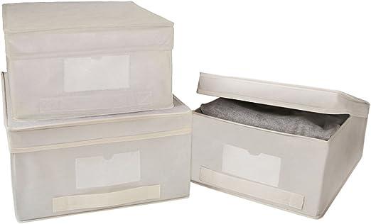 Rayen Caja para Guardar Ropa, Talla M: Amazon.es: Hogar