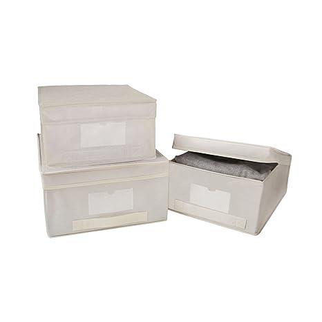 Rayen 2062 - Caja para guardar ropa, talla L, material transpirable
