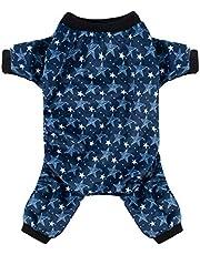CuteBone Dog Pajamas Puppy Apparel Doggy Jumpsuit Pet Clothes Pajamas Shirt