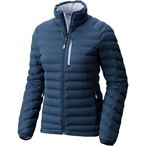 Mountain Hardwear Women's StretchDown Jacket, Zinc, XL