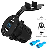 Best USB Chargers For Cigarette Lighters - Dual USB Charger Socket Car Power Outlet Waterproof Review