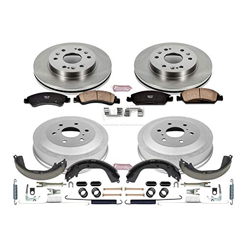 Power Stop Front & Rear KOE15263DK Autospecialty Daily Driver Pad, Rotor, Drum and Shoe Kits