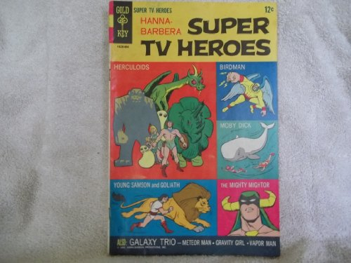 Hanna-Barbera Super Tv Heroes #1 (Hannah-Barbera Comic Book, First Issue)