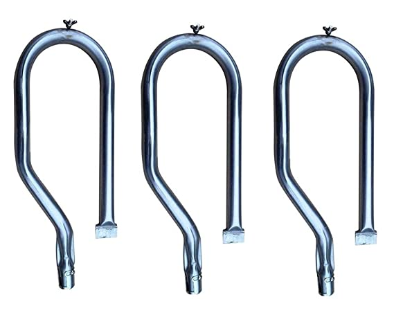 Amazon.com : Hongso SBZ801 (3-Pack) Replacement BBQ Stainless Steel Gas Grill Burner for Costco Kirkland SKU778627, 778627, 720-0011, 720-0108, 720-0070-LP, ...