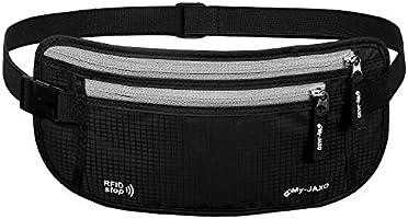 3040e14fb494 My-JAXO Premium Security Belt for Travel with RFID Blocking ...