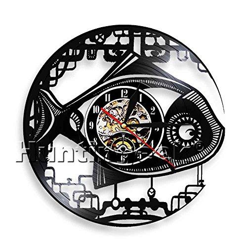 Vintage Fish Design Wall Clock