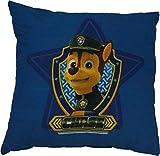 Paw Patrol Boys Chase Blue Cushion By BestTrend