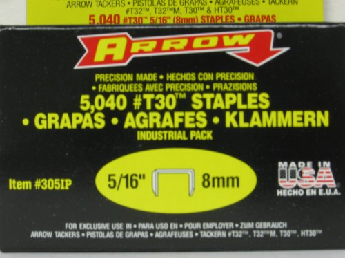 T30 Staples Box (5/16IN STAPLES 5000/BOX)