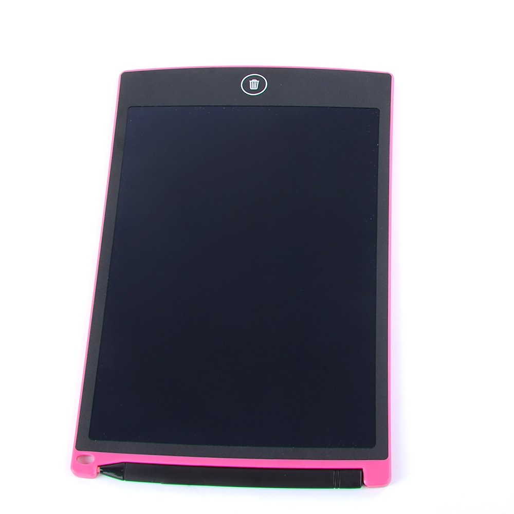 Hakutatz 8.5-inch LCD Writing tablet Writing Pad Notepad Electronic Drawing Tablet Graphics Board Pink
