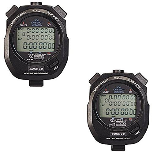 Ultrak 495 100 Lap Memory Timer (2-Pack) by Ultrak