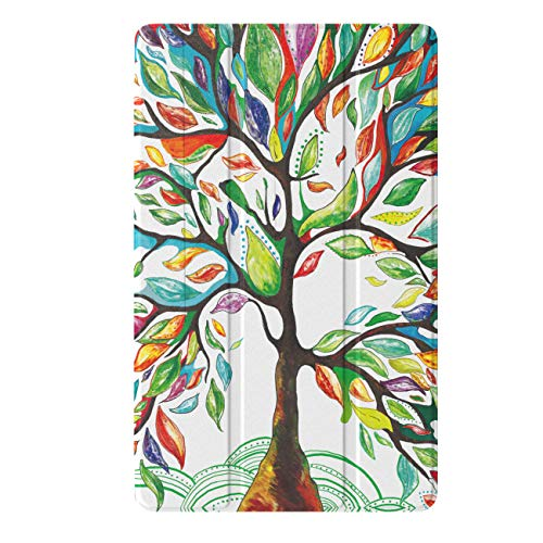 - TiMOVO Case for Samsung Galaxy Tab A 10.1 2019 Release, Premium Slim Folding PU Leather Stand Case Fit Galaxy Tab A 10.1 2019 (SM-T510 / SM-T515) Model - Lucky Tree