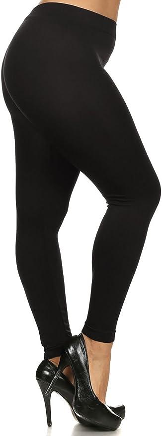 Shop 14 Colors World of Leggings Plus Size Premium Nylon Spandex Leggings
