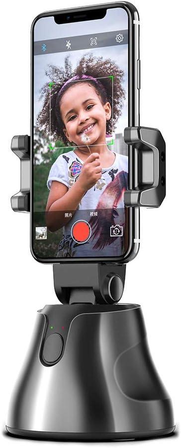 Einsgut Smart Gimbal 360 Drehung Auto Face Object Tracking Smart Shooting Kamera Telefonhalterung Männer Frauen Selfie Halterung Küche Haushalt