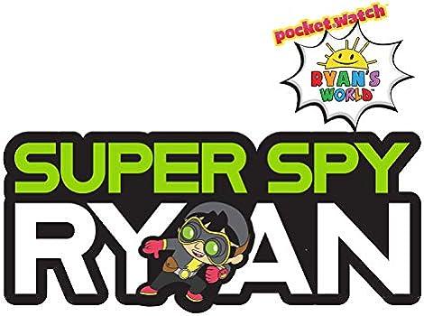13 surprises inside Exclusive Ryans World Super Spy Ryan Golden Console