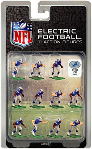 Detroit LionsDark Uniform NFL Action Figure Set