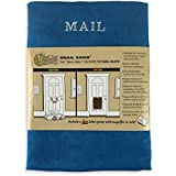 SNAIL SAKK: Mail Catcher For Mail Slots - BLUE. No more mail on the floor! Plus many other benefits!
