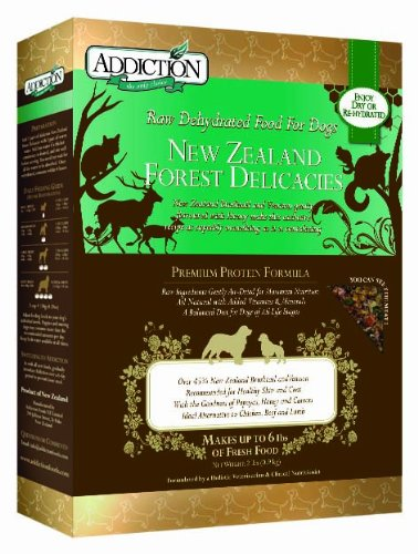 Addiction Pet Foods New Zealand Forest Delicacies Dog Food, 2-Pound, My Pet Supplies