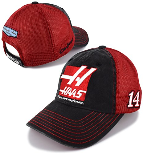 Checkered Flag Clint Bowyer Haas Team Mesh NASCAR Trucker Hat