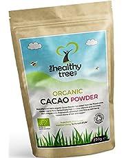 Cacao in Polvere BIO | Ricchi di Magnesio, Fibra, Proteina, Potassio e Ferro - Certificati Organici Polvere di Cacao da TheHealthyTree Company
