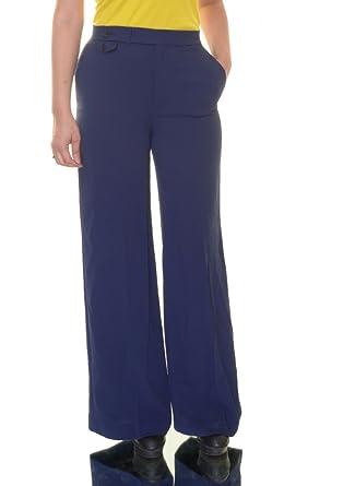 6a2d1ac6e8413 Lauren by Ralph Lauren Women s Wide Leg Sharkskin Pants at Amazon Women s  Clothing store
