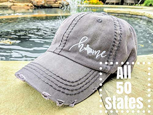 Missouri Ladies T-shirt - Loaded Lids, Women's 50 states hat, Home Hat, Texas and all 50 States