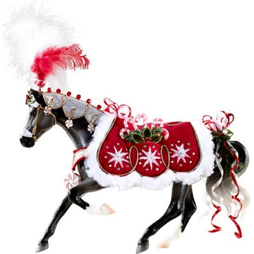 (Breyer 2015 Holiday Horse Peppermint Kiss Doll)
