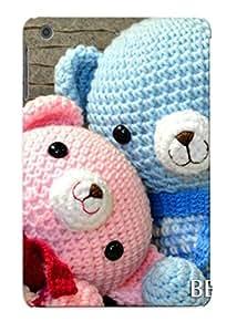 Ipad Mini/mini 2 Case - Tpu Case Protective For Ipad Mini/mini 2- Cute Teddy Bear Case For Thanksgiving's Gift