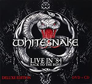 Live In 84 - Back To The Bone [CD/DVD Combo]