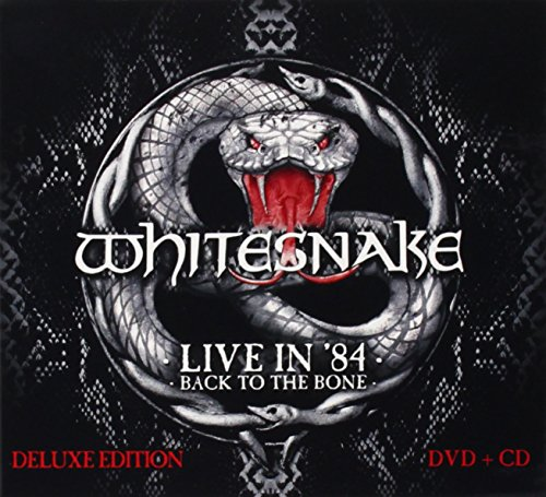Whitesnake - Live In 84 - Back To The Bone [cd/dvd Combo] - Zortam Music