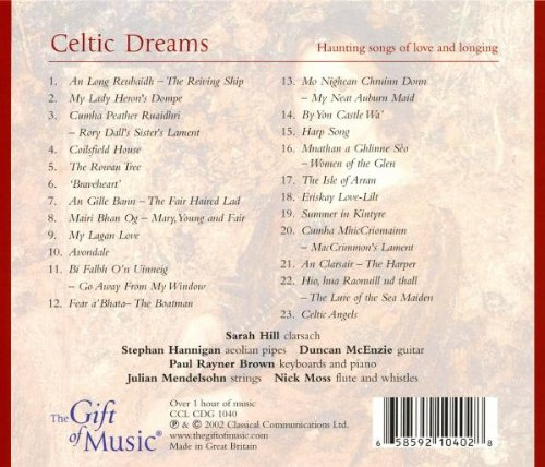 Celtic Dreams: Haunting Songs of Love and Longing by The Gift of Music