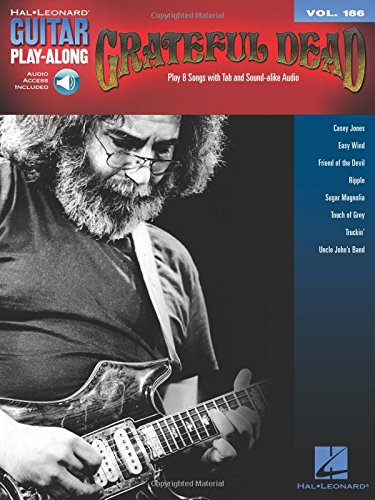 Grateful Dead: Guitar Play-Along Vol. 186