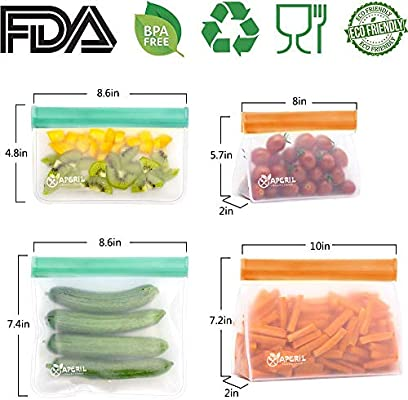 Bolsas Reutilizables para Almacenamiento de Alimentos, Bolsa ...