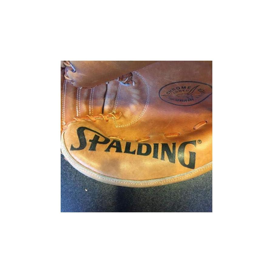 Vintage Yogi Berra Signed Spalding Game Model Glove With COA Yankees Auto JSA Certified Autographed MLB Gloves