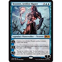Magic The Gathering - Tezzeret, Artifice Master - Tezzeret, Maestro Artefice - Core Set 2019