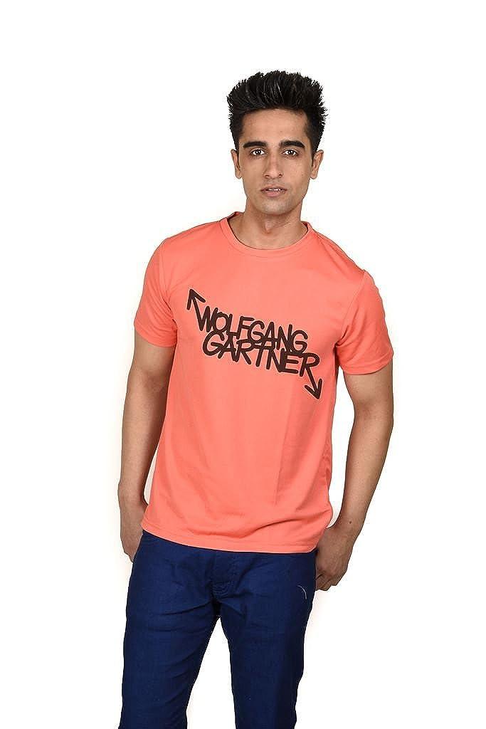 096003c5330f5c Lets Flaunt Wolfgang Gartner Boys T-Shirt Salmon  Amazon.in  Clothing    Accessories